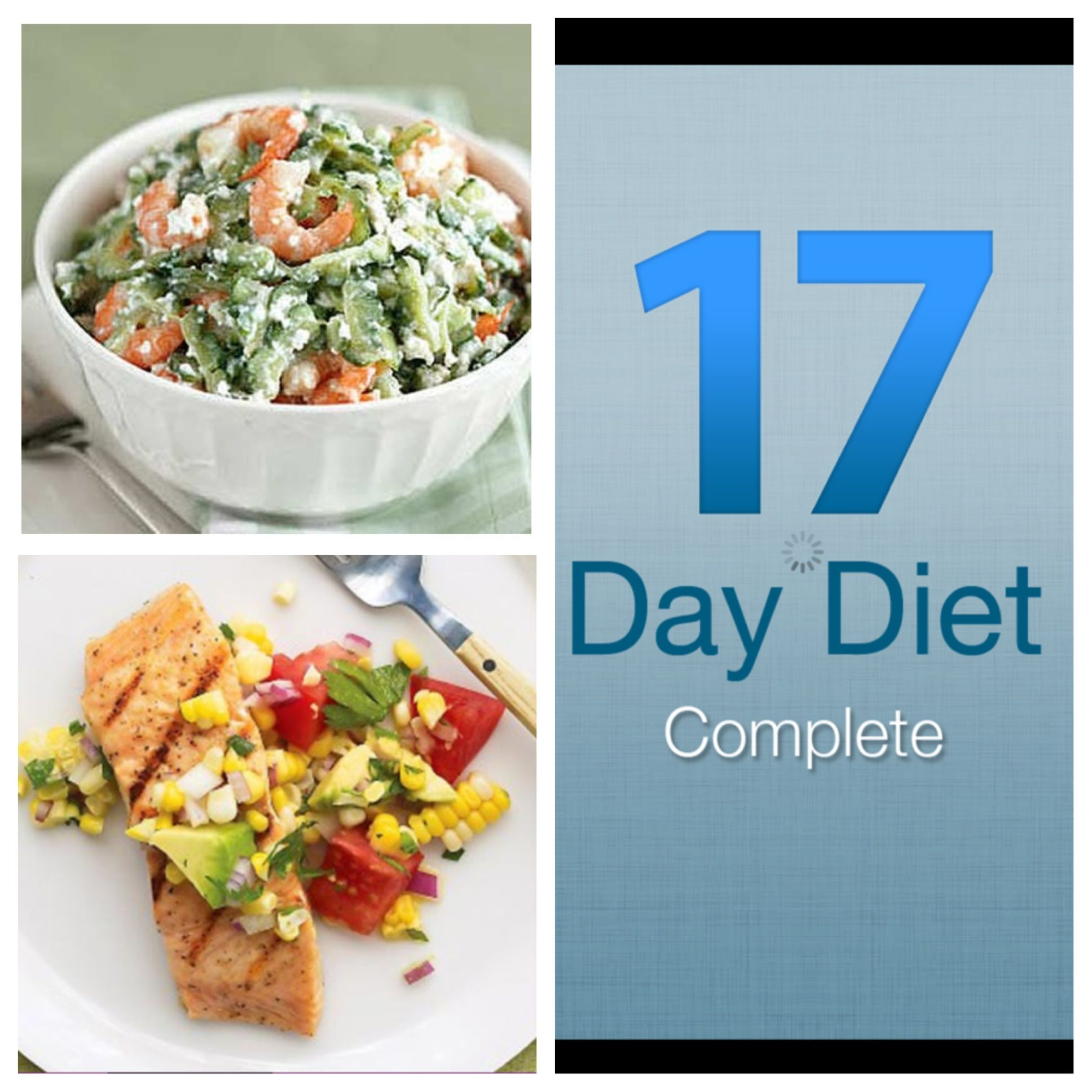 17 day diet complete app for iphone - a full guide to doing the diet the right way on your phone (available for iPhone, iPad, Android devices or Kindle) Cycles 1-4