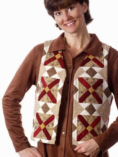 Quilted Clothing Quilted Vest Patterns Blocks Of Time