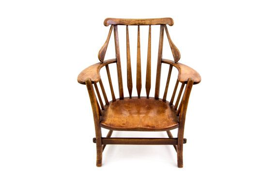 sikes chair company office bucket chairs vintage maple arm art and crafts