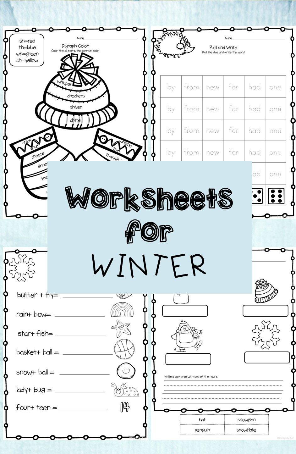 Winter Worksheets Math Worksheets Kindergarten Resources Writing Numbers [ 1444 x 942 Pixel ]