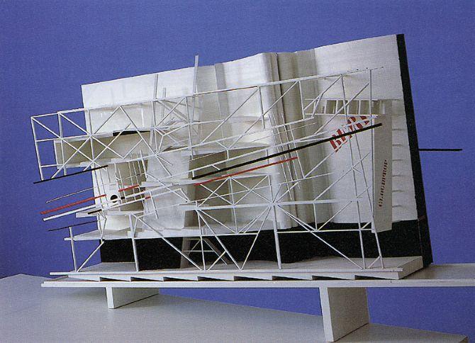 Daniel Liebeskind. A+U 216 August 1988: 122 | RNDRD