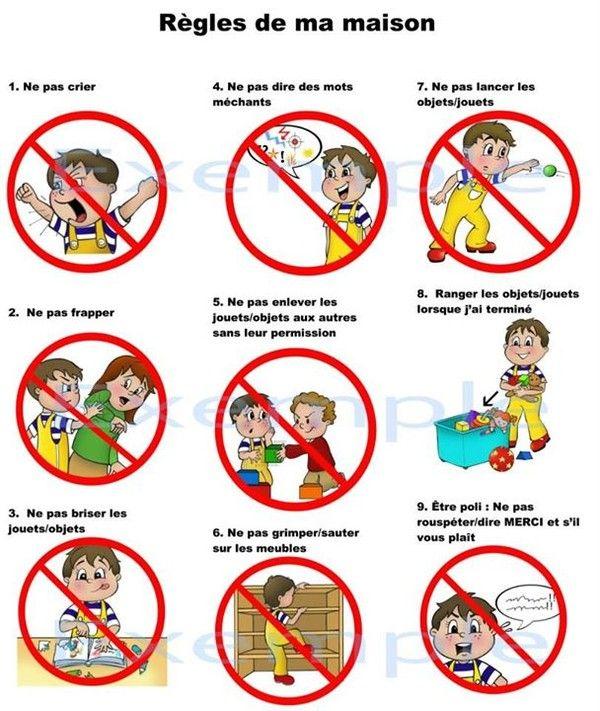 R gle de vie maison enfant recherche google ergo for Regle de maison