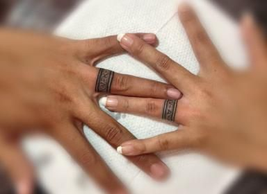 wedding ring tattoos - Wedding Rings Tattoos