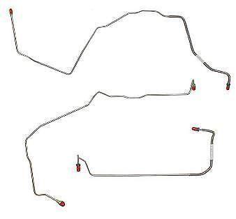 98-03 Pontiac Grand Prix Front Brake Line Kit AWABS
