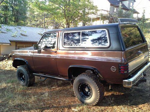 1977 Chevy K5 Blazer 1977 K5 Blazer Cheyenne Us 7 500 00 Image 2 K5 Blazer Camper Van Conversion Diy Cheyenne