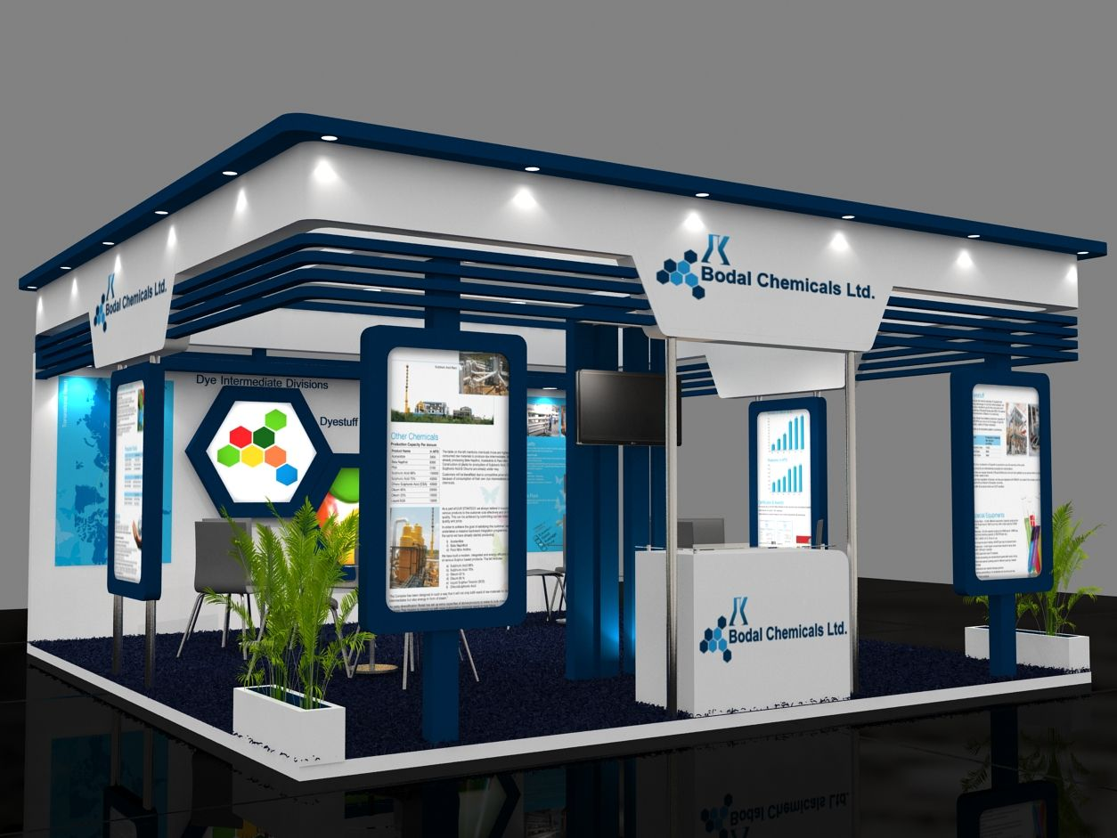 Exhibition Stall Designer In Germany : Exhibition stand visualization using ds max v ray d