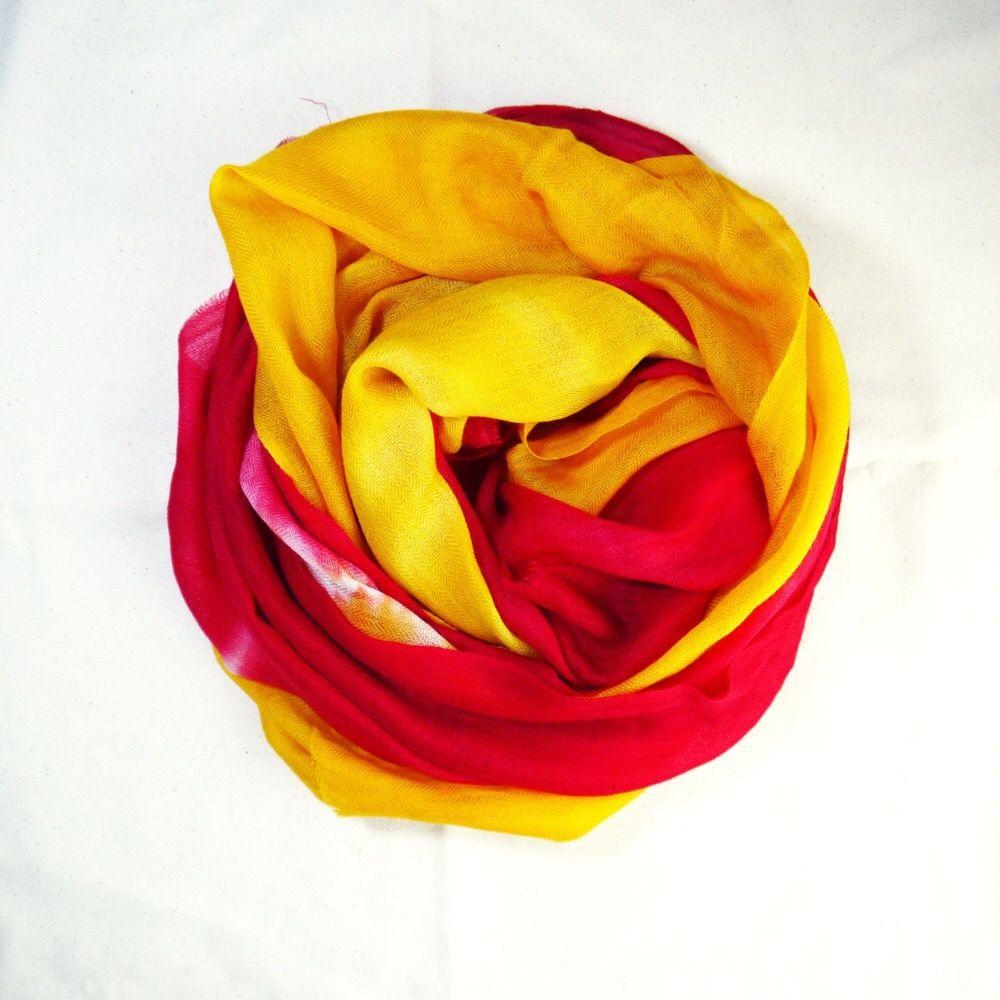 Handmade cashmere scarf. Best color mashup design. Do you like it   Écharpe  En CachemireLe Faites VousFait À La MainCouleurs 28cd1f8bea5