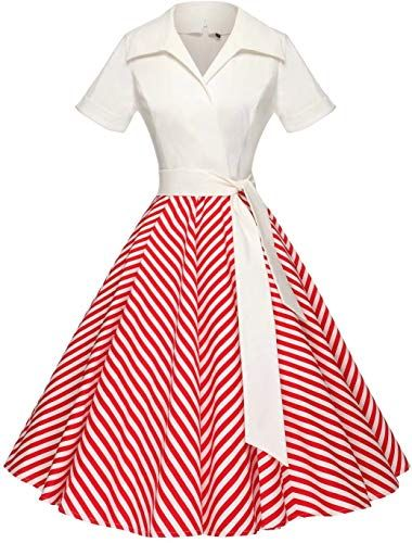 Best Seller Gowntown Women1950s Printed Dot Floral