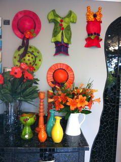 Ceramic and Clay Artist Judi Brennan.