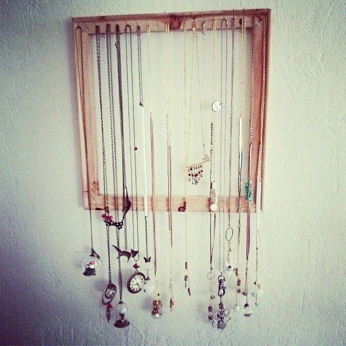 Diy#necklace#porte-colliers