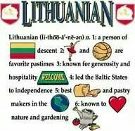 Definition of a Lithuanian