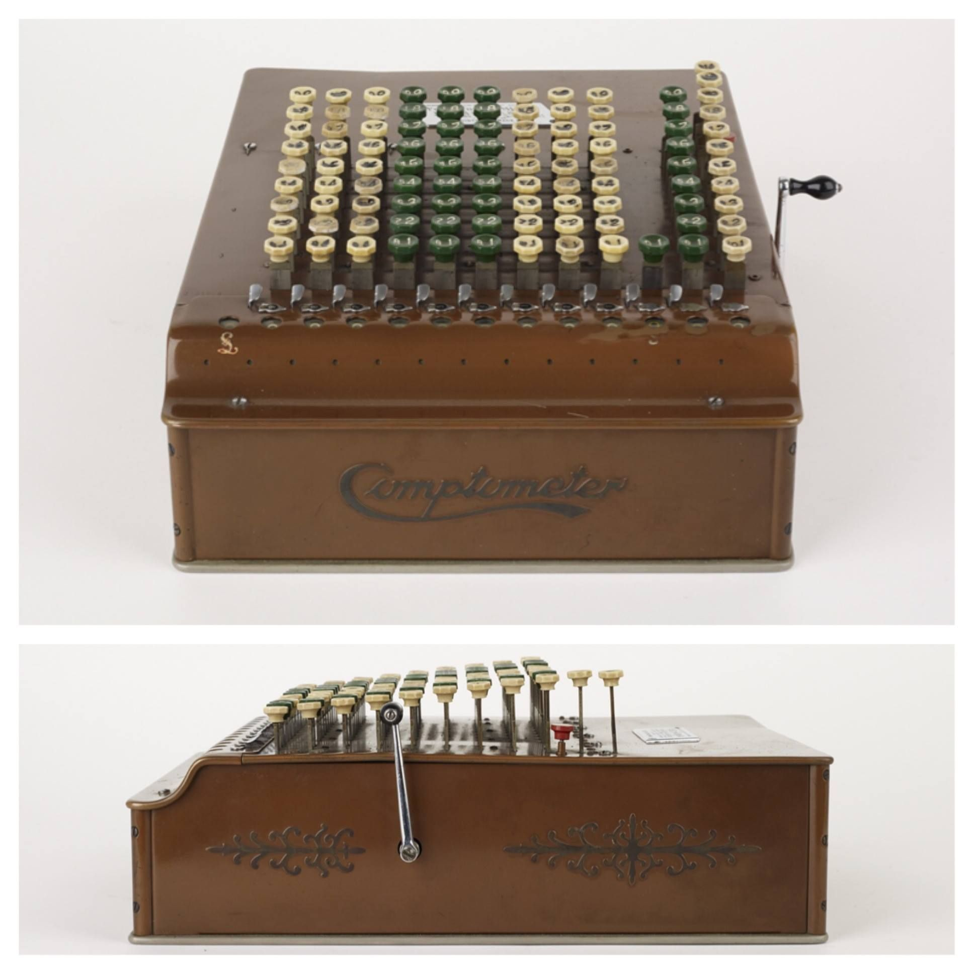 Comptometer Calculating Machine C 1914 Manufactured By Felt