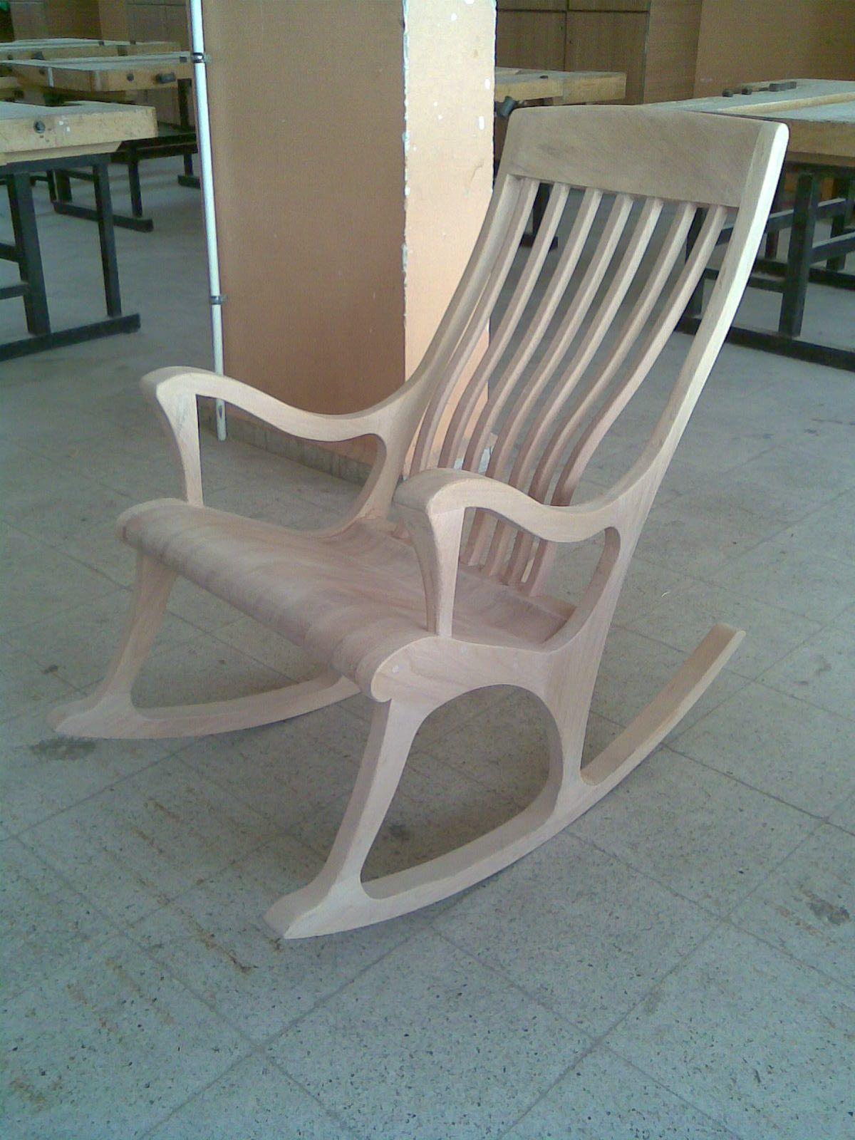 Rocking Chair Wooden Cadeiras De Balanco De Madeira Moveis Madeira Macica Sofa De Madeira