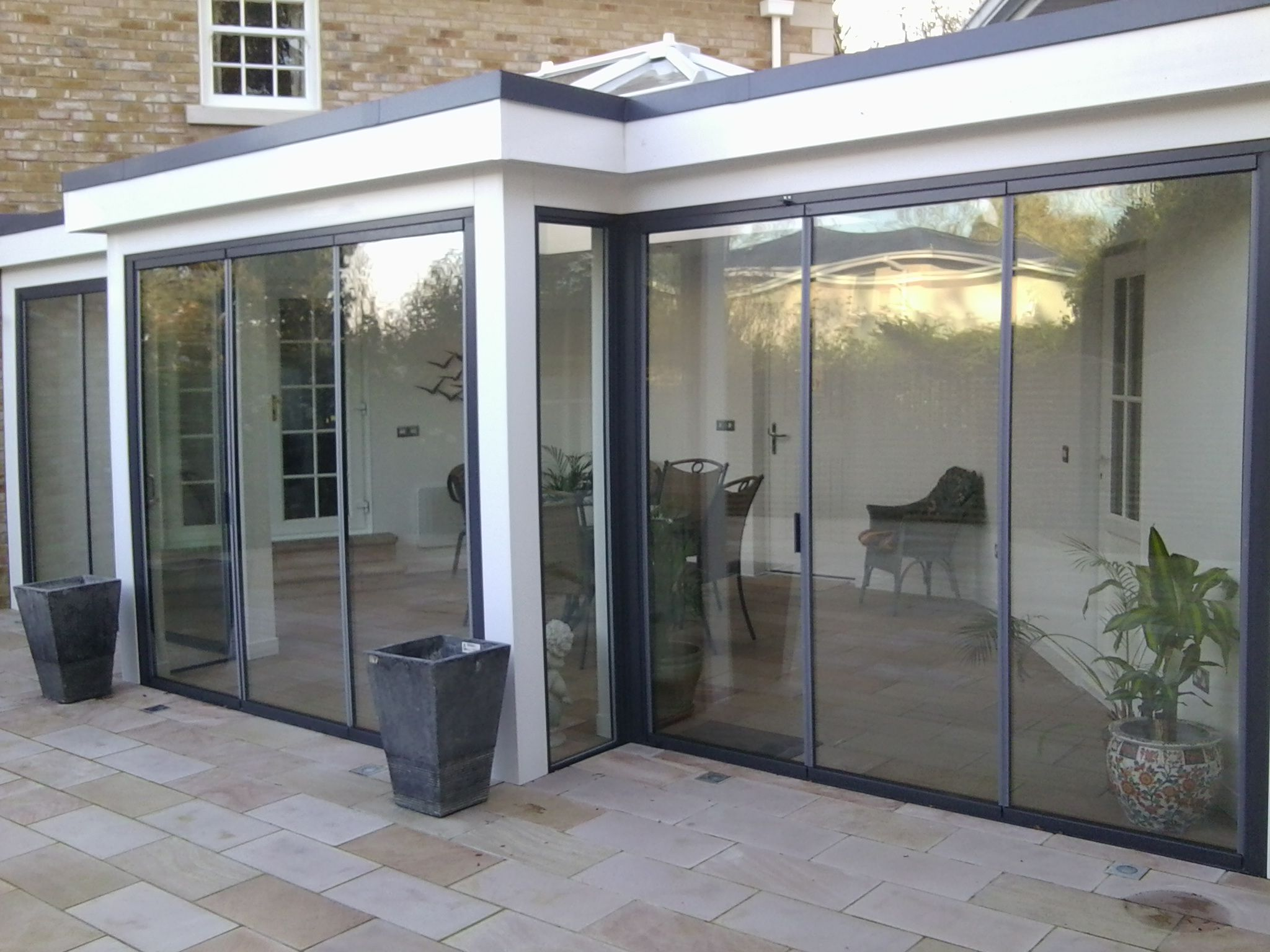 Ultraslim Are Fully Retractable Patio Doors With Slim 19