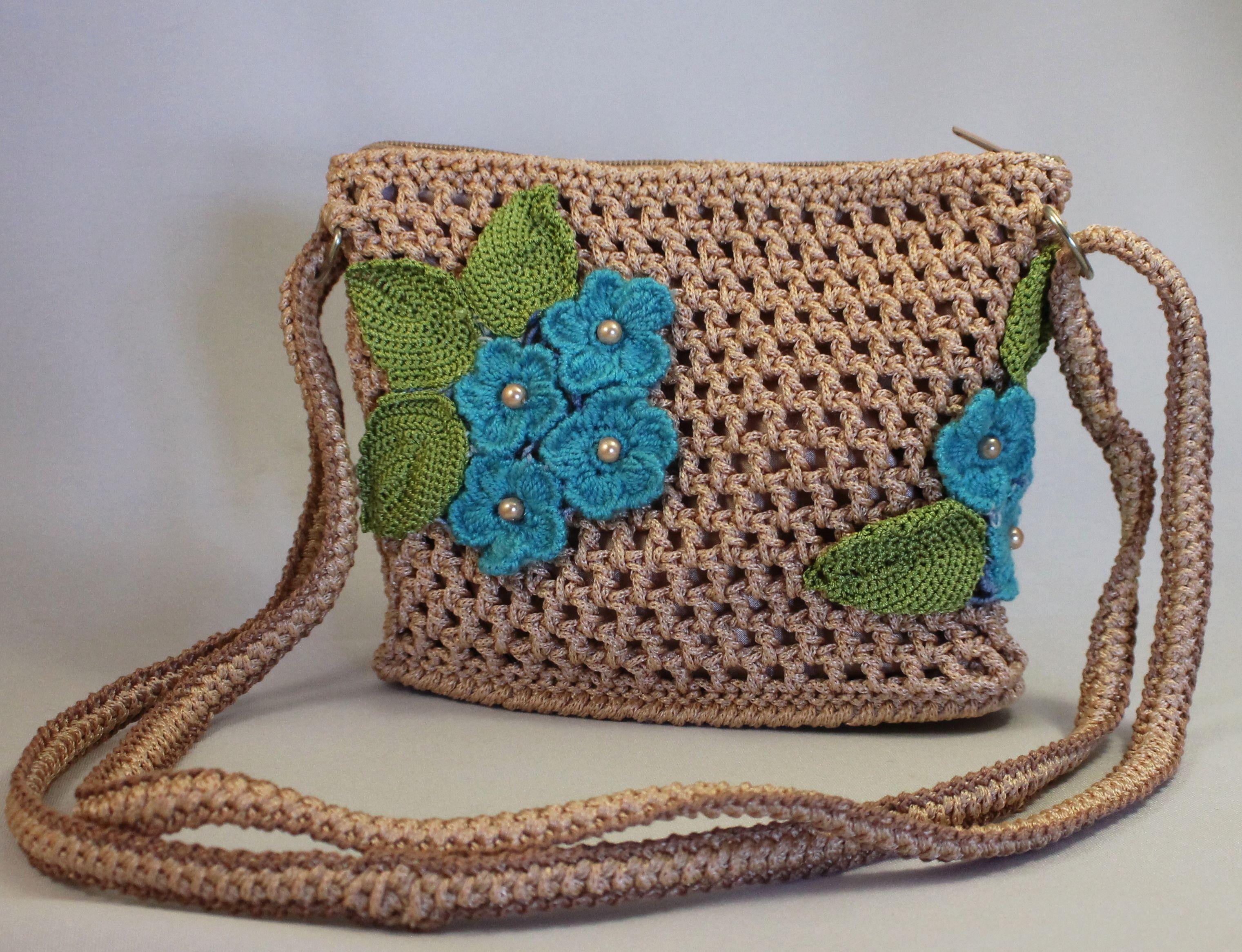 картинки вязанных сумочек