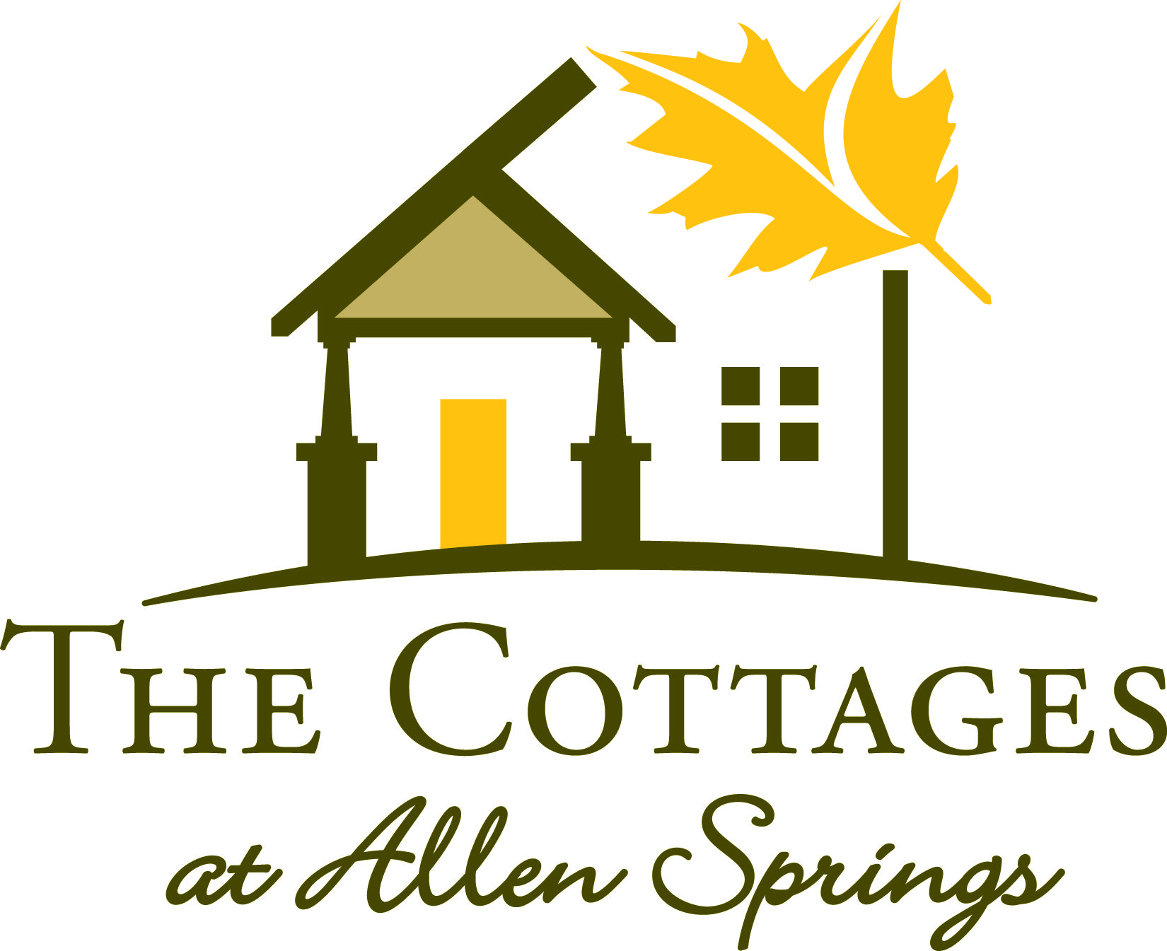 Logo for our newest community The Cottages at Allen