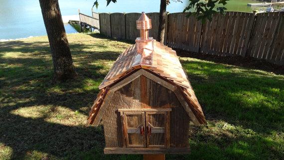 Best Rustic Barn Bird House Rustic Barn Bird Houses House Styles 400 x 300