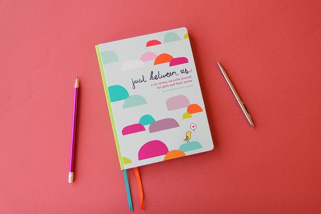 This journal makes the perfect experience gift for girls and moms