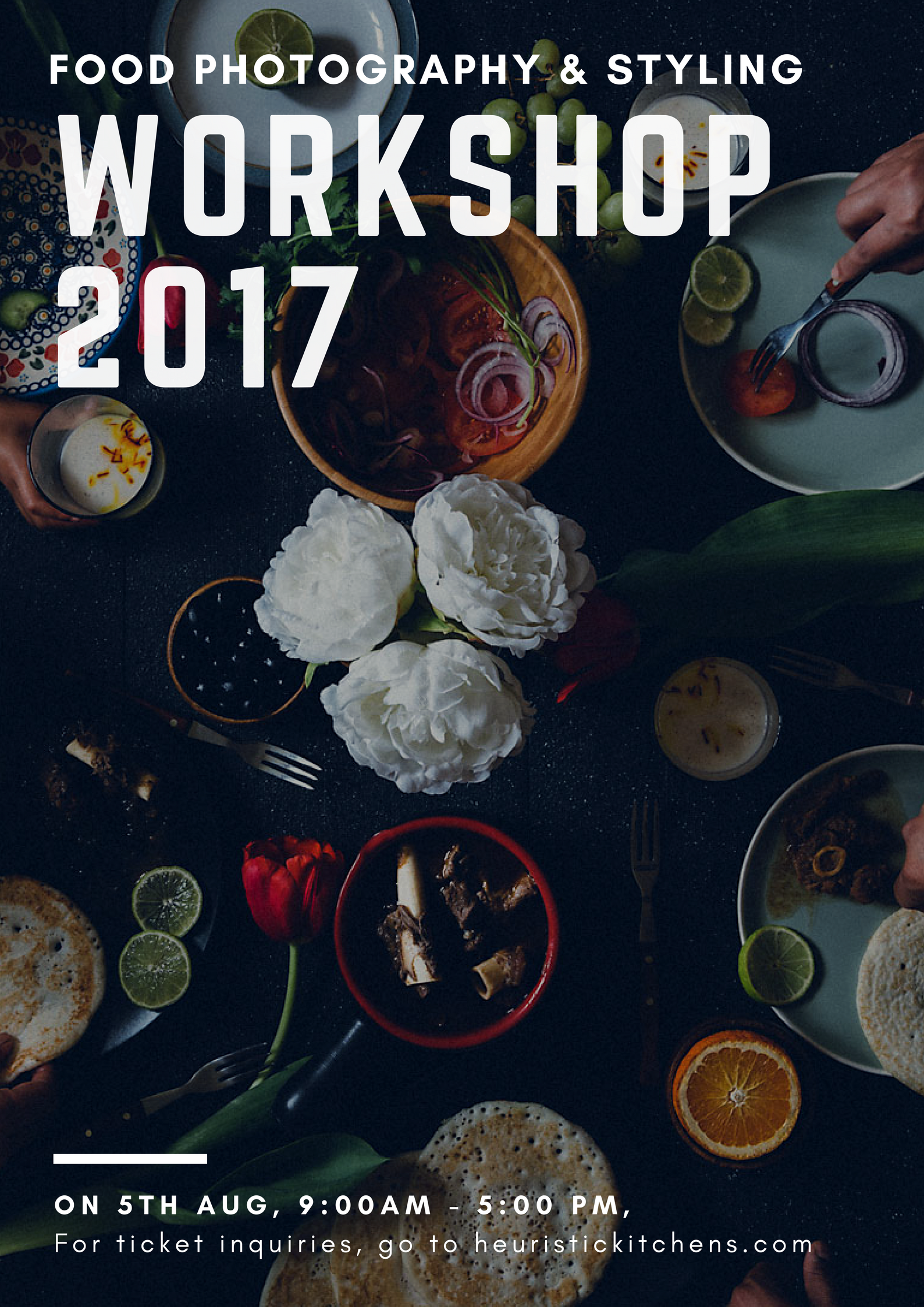 Heuristic Kitchens | Food Photography and Styling workshop 2017 | http://www.heuristickitchens.com