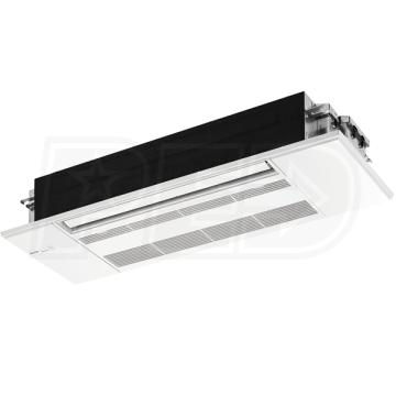 Mitsubishi Mlz Kp09na 9k Btu M Series One Way Ceiling Cassette With Grille For Multi Or Single Zone Mitsubishi Ceiling Ductless Air Conditioner
