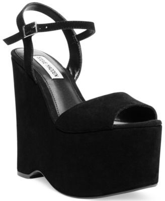 e172fa7becb Steve Madden Jaylee Two-Piece Platform Wedge Sandals