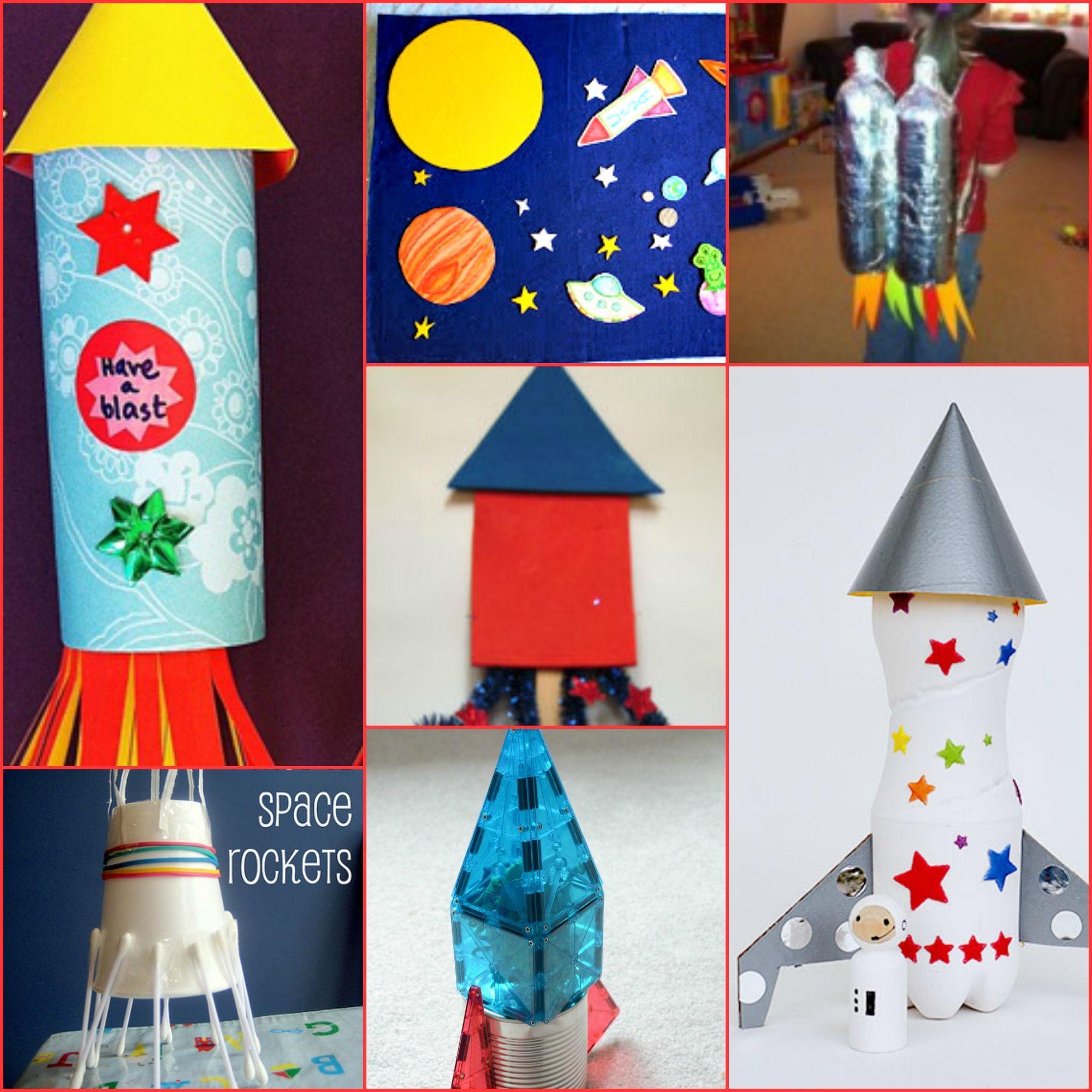 Rocket Ship Crafts For Kids