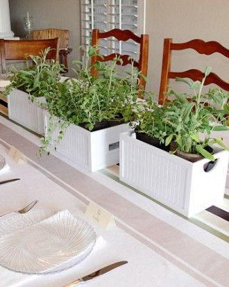 """See the """"Herb Boxes"""" in our Your Best Baby Shower Ideas gallery"""
