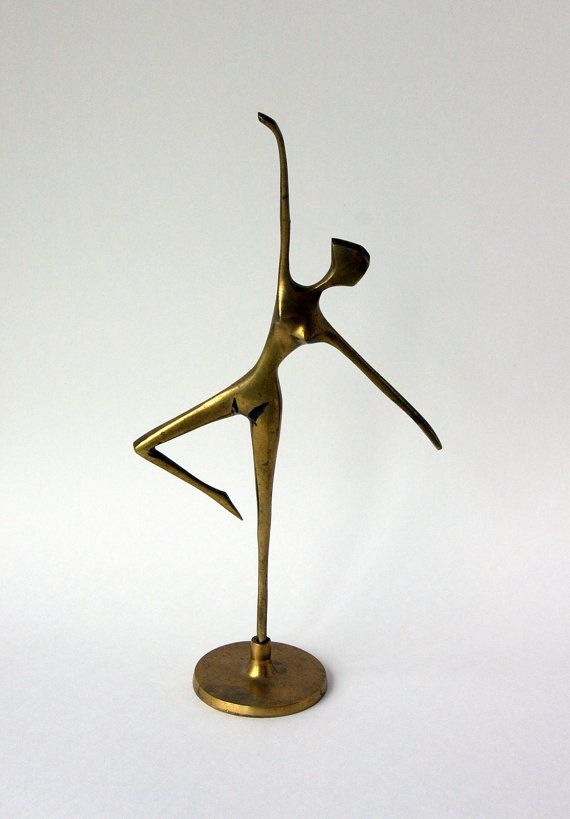 Modernist Brass Dancer by bitofbutter