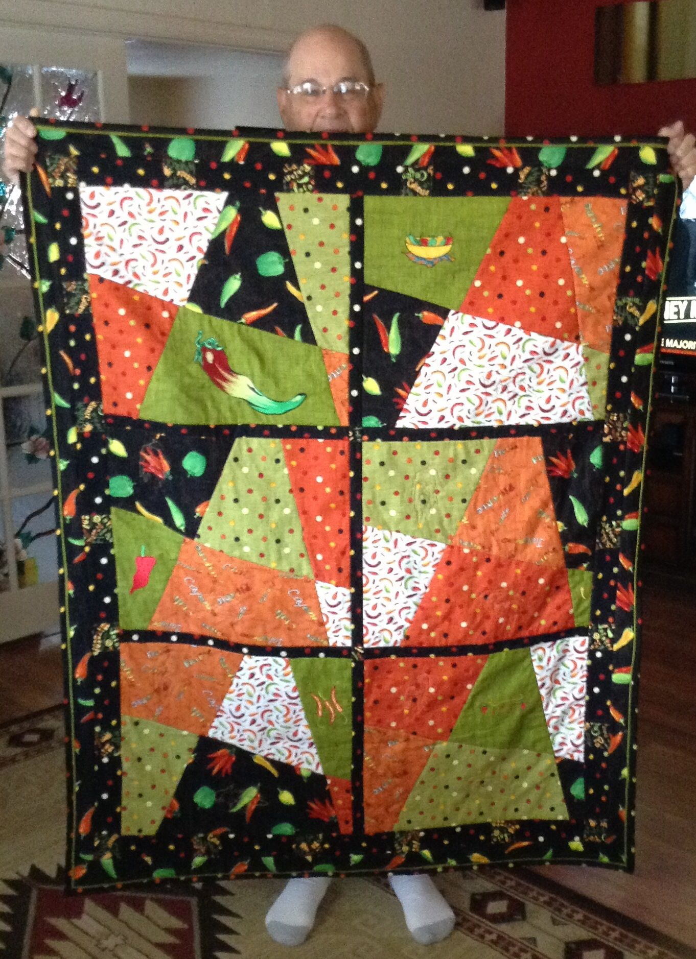 Stack And Whack Quilt Quilts Bed Blanket