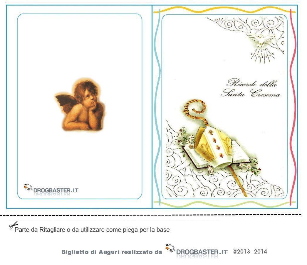 Biglietto Di Auguri Prima Comunione Bambino Biglietti Prima Comunione Inviti Cresima E Biglietti Portafoto Comunione Prima Comunione Biglietto