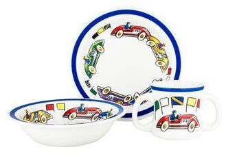 Tiffany Co Race Cars Baby Set Kid Plates Ad Kids Plates Race Cars Baby Car