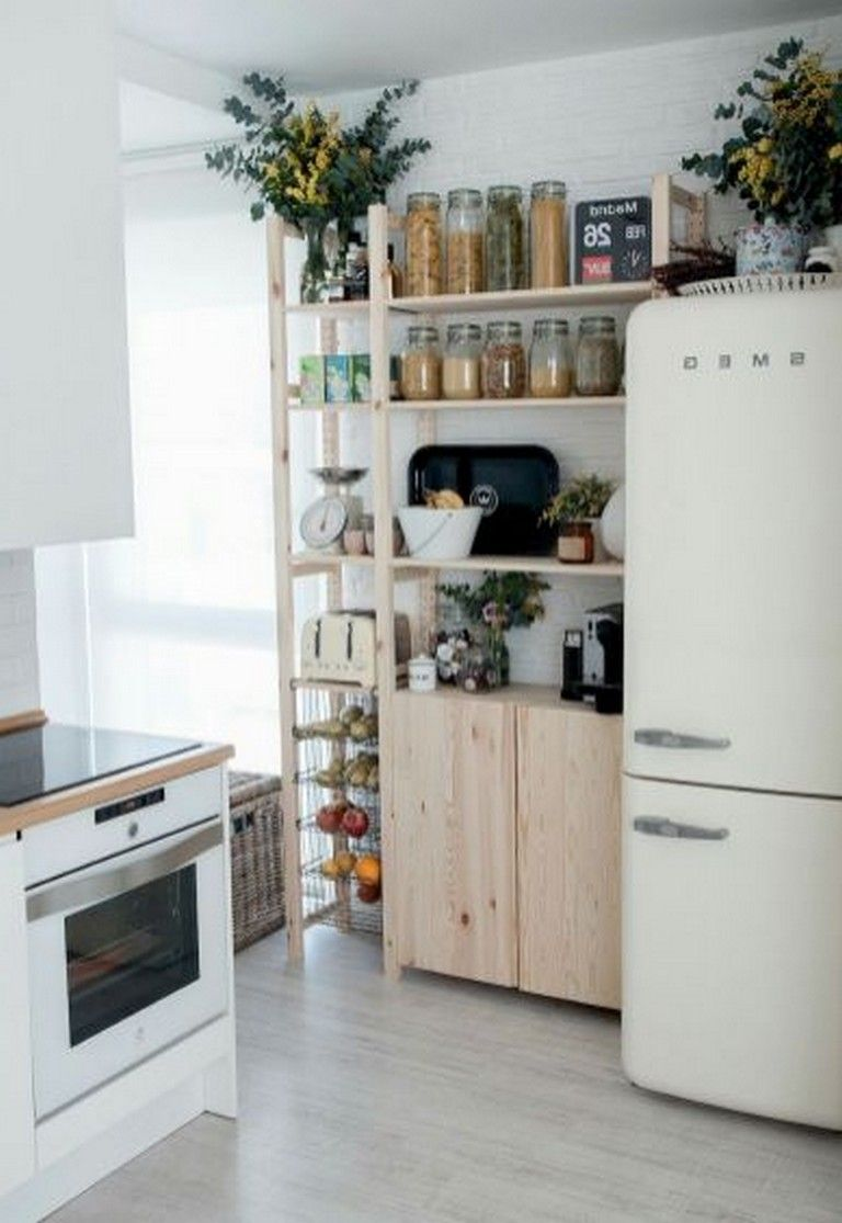 85 very cheap and creative storage hacks for small apartments minimalist kitchen essentials on kitchen organization small apartment id=94414
