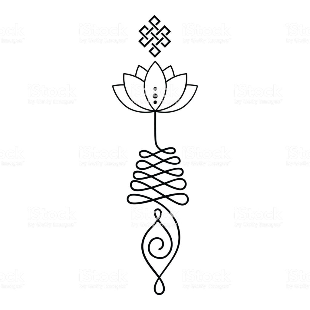Unalome Lotus Flower Meaning Google Search Drawings Lotus