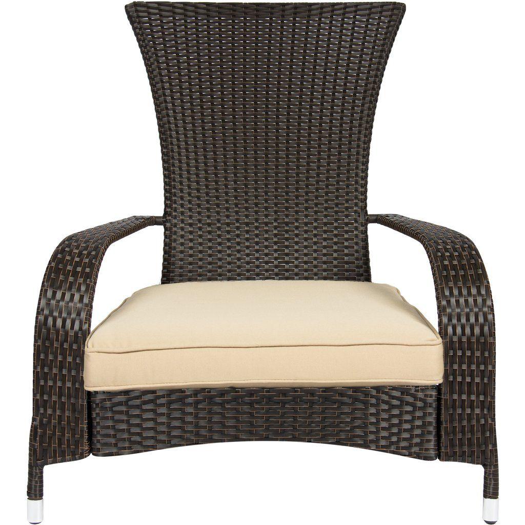 Wicker Adirondack Chair Adirondack Chairs Patio Outdoor Wicker Furniture Wicker Furniture