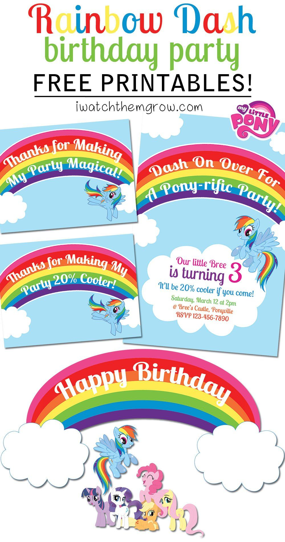 my little pony printables pdf
