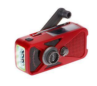 ETON Hand Crank AM/FM Weather Radio w/ USB Charger and Flashlight