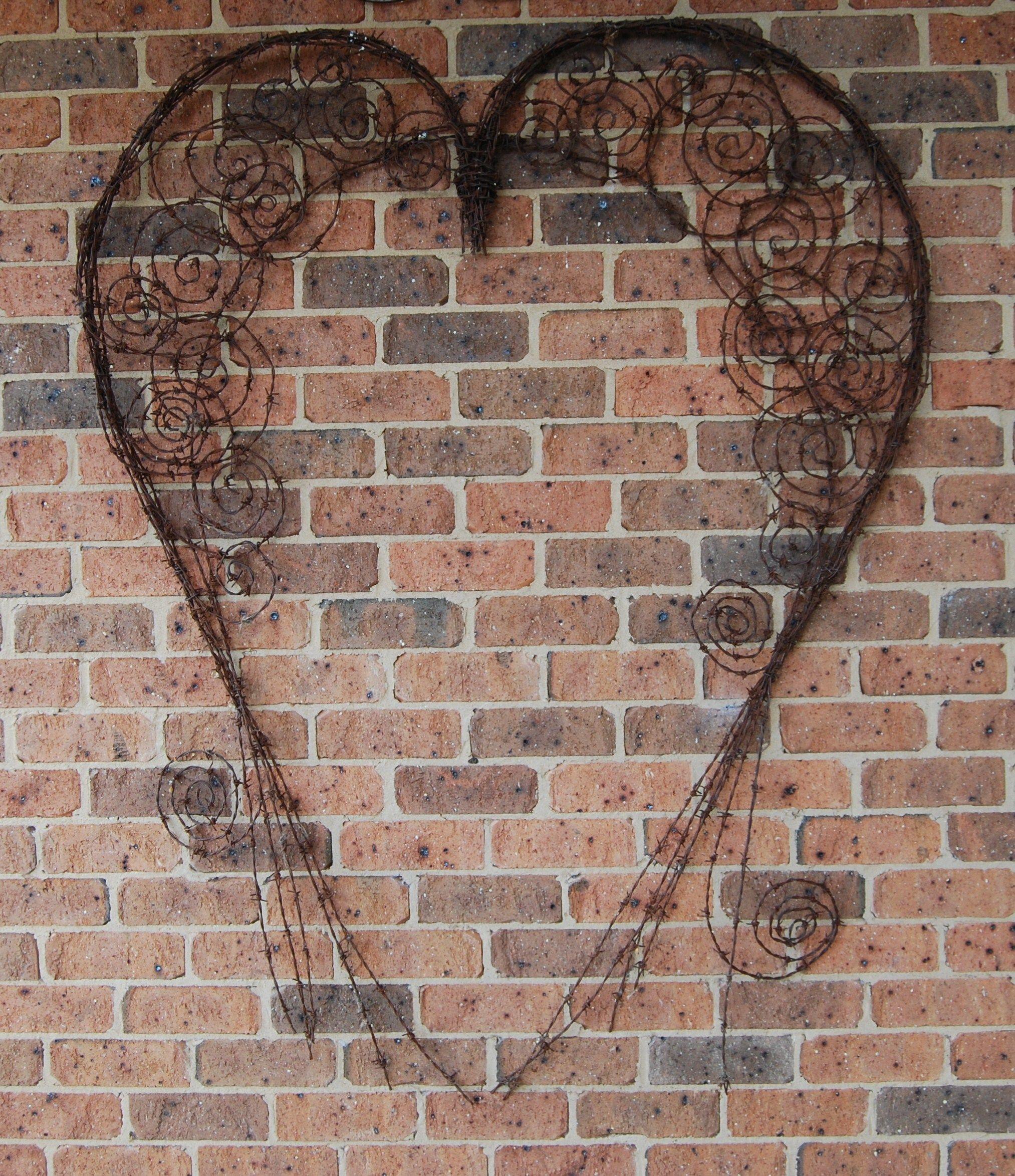 barbed wire heart | Wild, Wild West Ideas | Pinterest | Draht ...