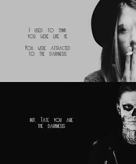 Tate American Horror Story Quotes : american, horror, story, quotes, Darkness, American, Horror, Story, Seasons,, Horror,, Quotes