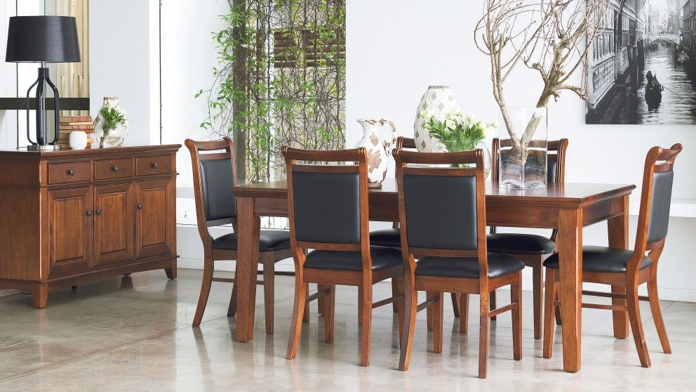 Mystique 7 Piece Dining Setting Furniture