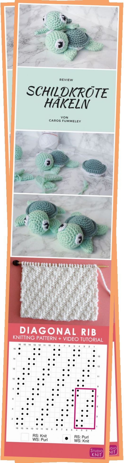 Photo of Amigurumi turtle crochet Caros Fummeley