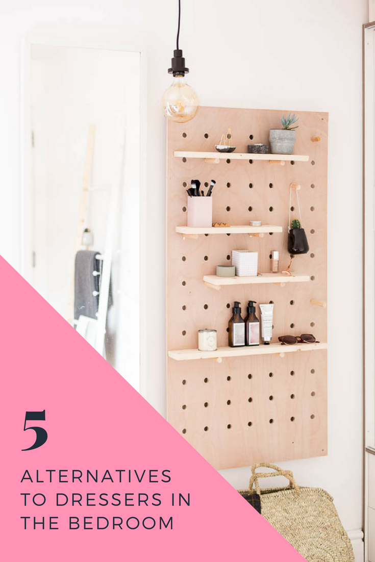 5 Alternatives To Dressers In The Bedroom Dresser Alternative