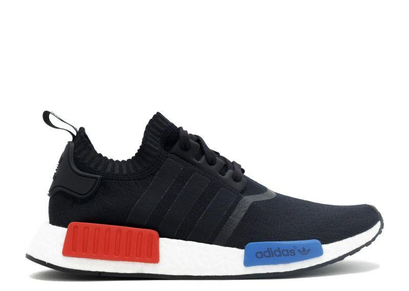 adidas nmd runner pk, nero, rosso e blu vuole, ha bisogno di beni