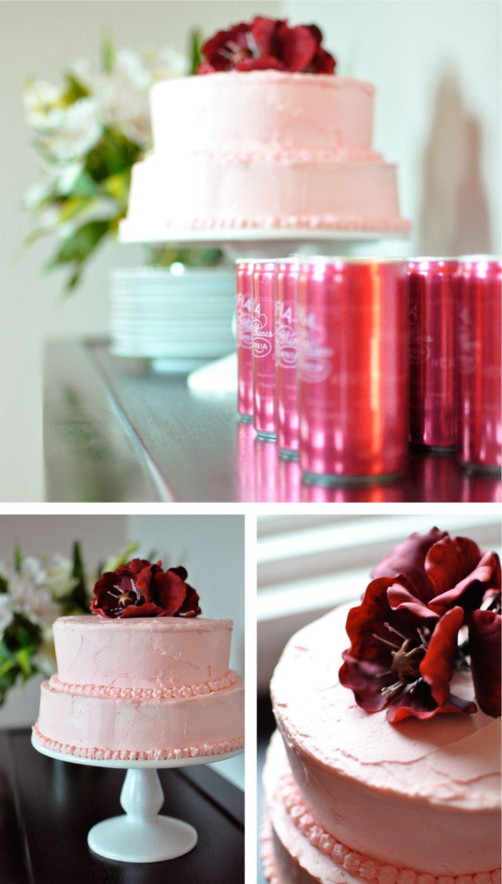 raspberry macaroon favors, pink lemonade, blackberry IZZE, Sophia ...