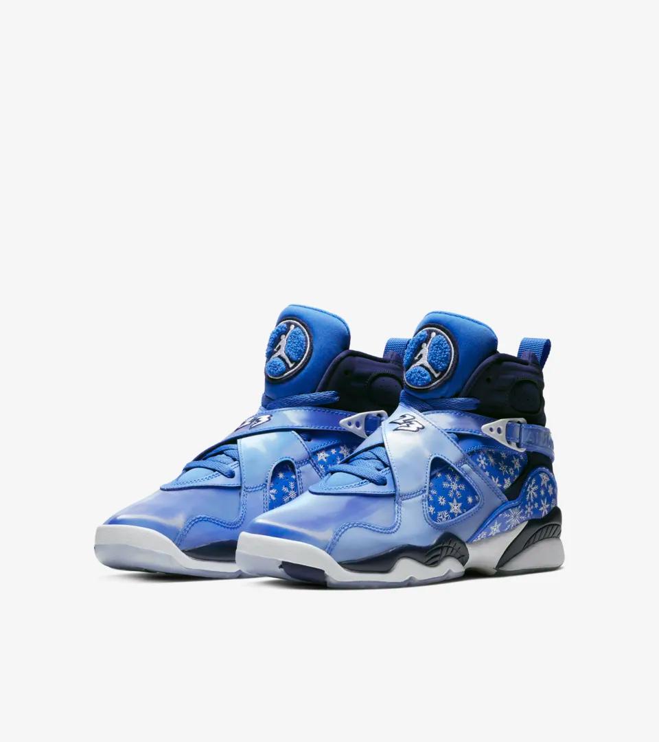 online store 0ab7b 27473 Jordan Retro 8 Snowflake GS Release Links #jordan #nike ...