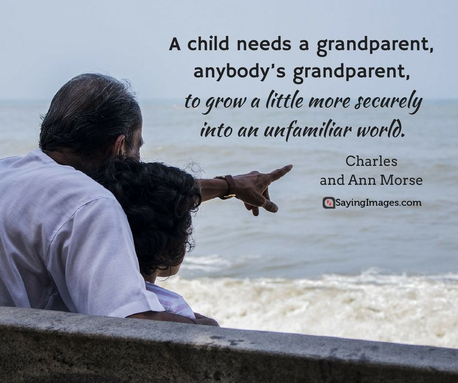 50 Great Happy Grandparents Day Quotes | Family Quotes and
