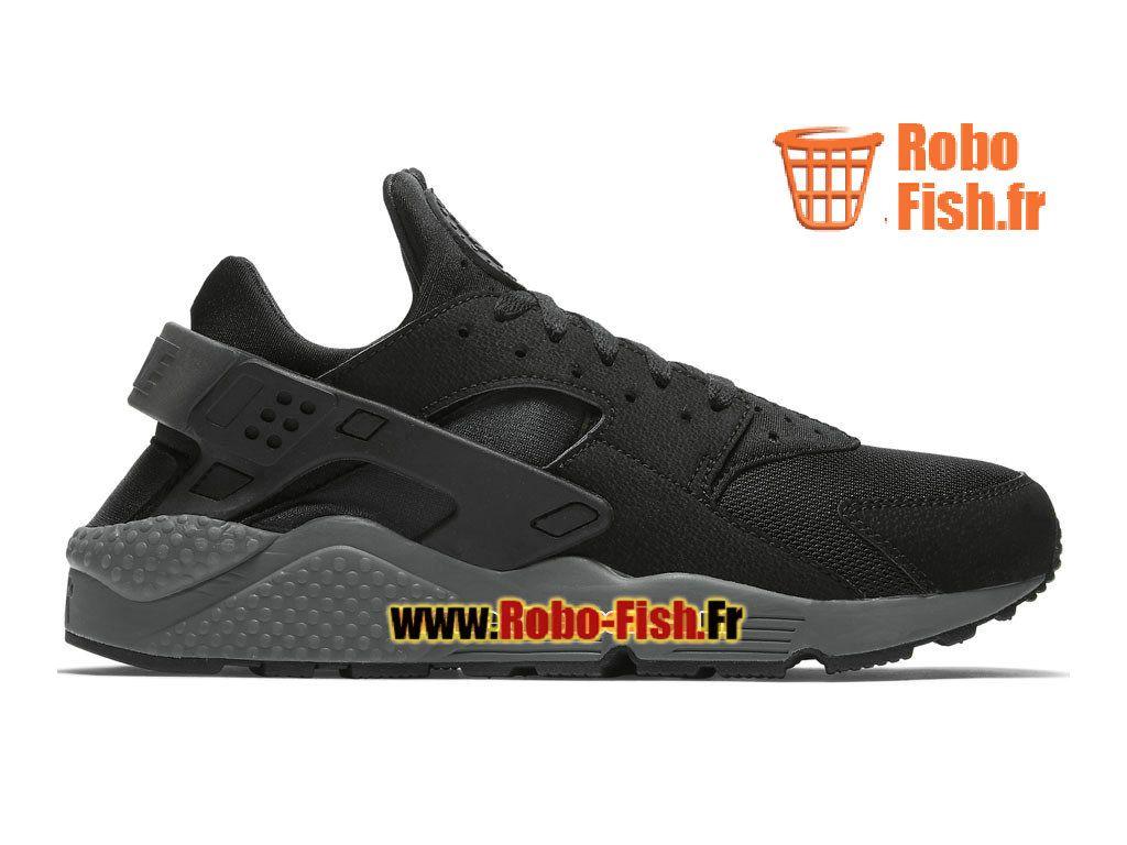 Nike Air Huarache GS - Chaussure Nike Sportswear Pas Cher Pour Femme/Enfant  Noir/