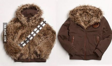 A reverse-able chewie jacket! Shut up and take my money!