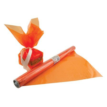 Party Occasions Orange Rolls Gift Wrapping Supplies