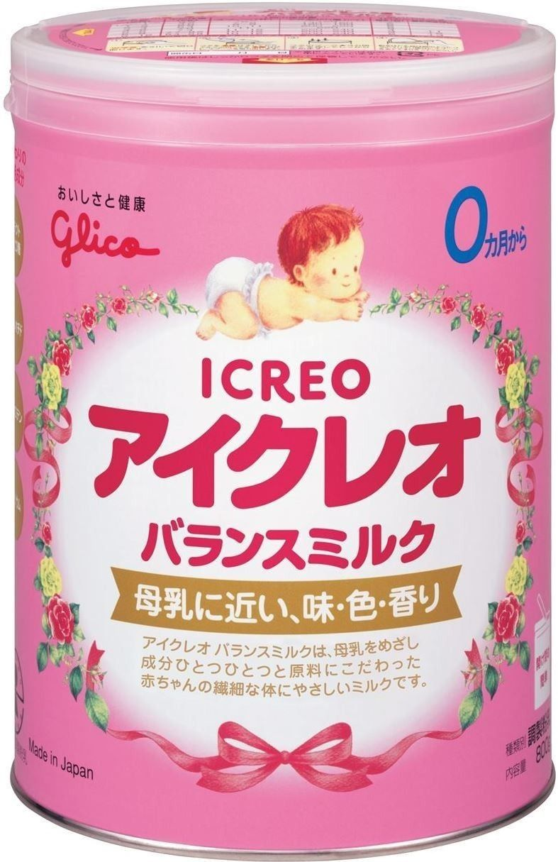 Icreo Balance Milkfor 01 year Milk ingredients