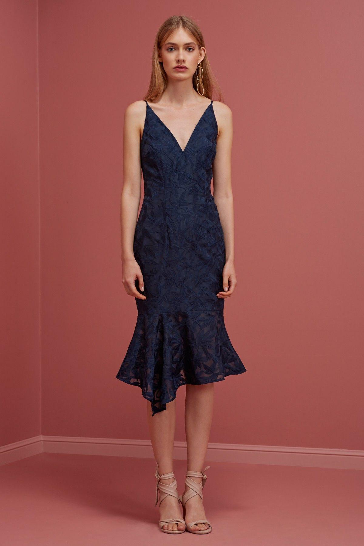 Plain sight dress semi formal wear spring racing and wedding blue